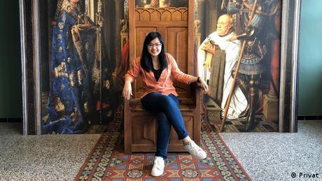 Zerlina Wuisan, mahasiswa Indonesia yang studi Bioteknologi di Jerman