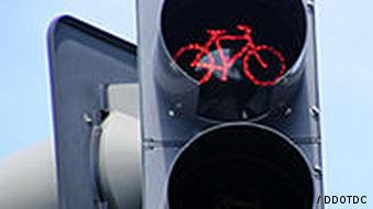 A red light for cyclists