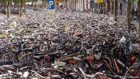 Fahrradparkplatz – Gent