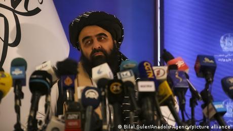Taliban Foreign Minster Amir Khan Muttaqi