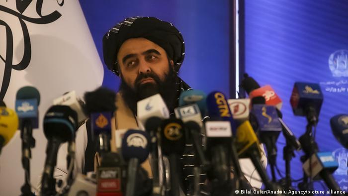 Afghanistan Kabul |Mawlawi Amir Khan Muttaqi, Außenminister Übergangsregierung