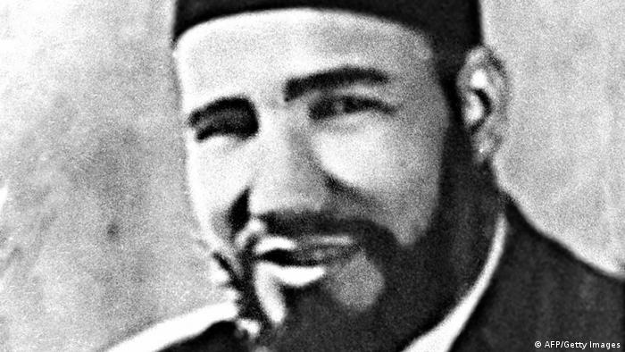 Picture of Hassan al-Banna, founder of the Egyptian Muslim Brotherhood