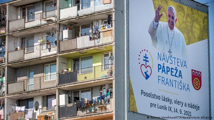Slowakei | Besuch Papst Franziskus | Roma Siedlung in Kosice