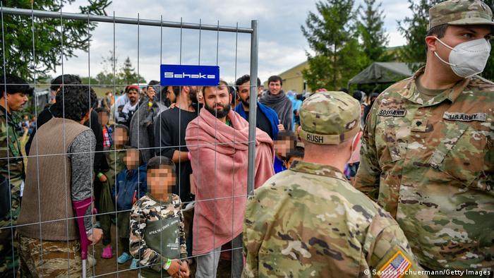 Deutschland Kaiserslautern | Flüchtlinge aus Afghanistan, Rhine Ordnance Barracks