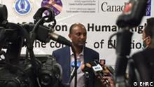 Foto von Daniel Bekele, dem Leiter der äthiopischen Menschenrechtskommission EHRC