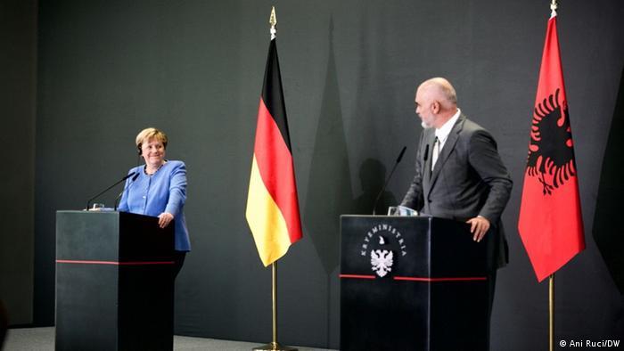 Angela Merkel i Edi Rama