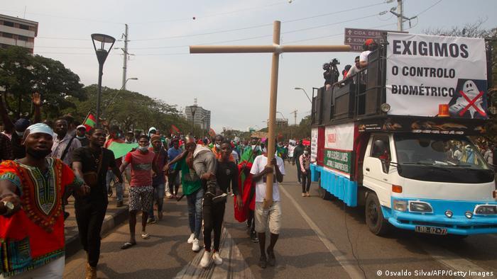 Angola I Demonstration in Luanda