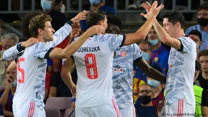 Champions League I FC Barcelona vs Bayern München | Jubel 0:2