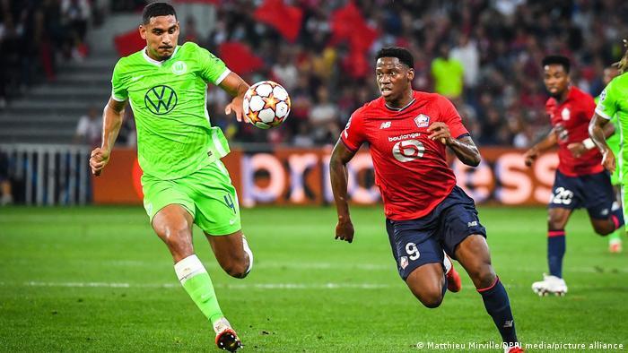 فولفسبورغ الألماني يعود بالتعادل من فرنسا في مواجهته مع فريق ليل بدوري أبطال أوروبا