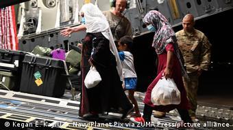 Эвакуация американцами афганских беженцев (5 сентября 2021 год)