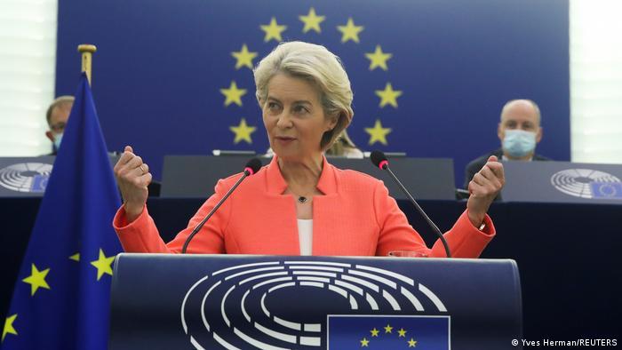 Urusla von der Leyen delivers annual speech in Strasbourg
