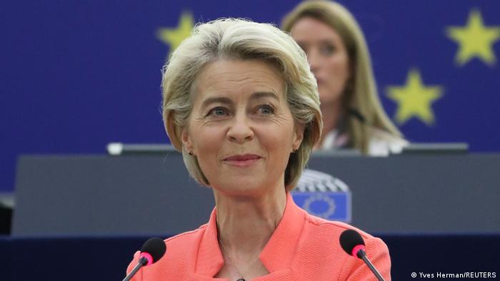 Frankreich | Ursula von der Leyen spricht im EU Parlament
