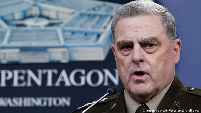 الجنرال مارك ميلي رئيس هيئة الأركان المشتركة للجيش الأمريكي