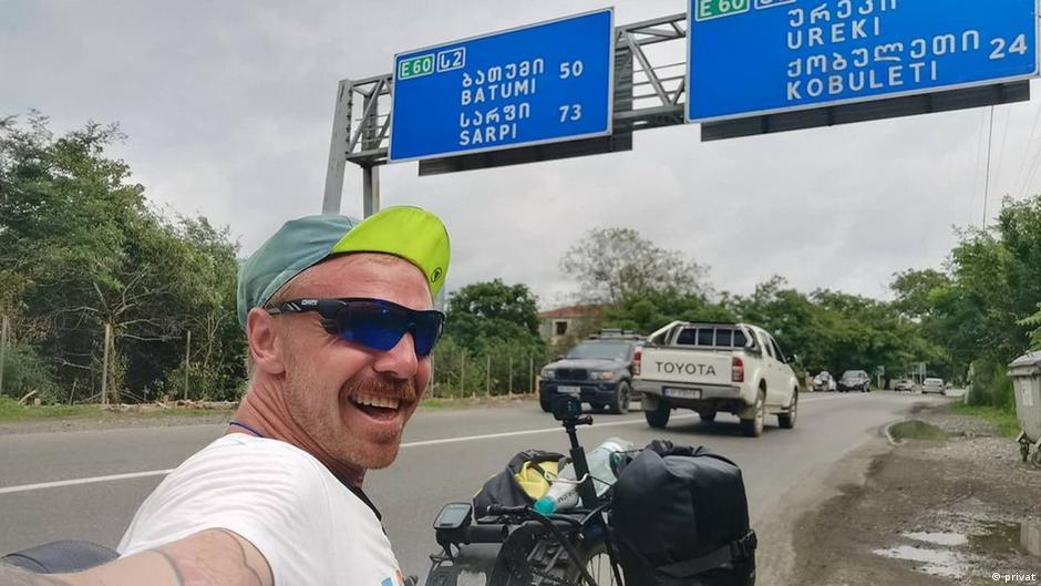 Sasha Avdevich aus Belarus |Weltreise auf Handbike