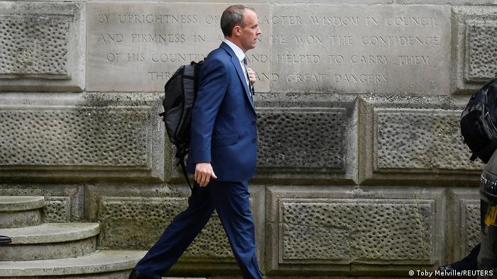 Großbritannien London |Dominic Raab, Außenminister