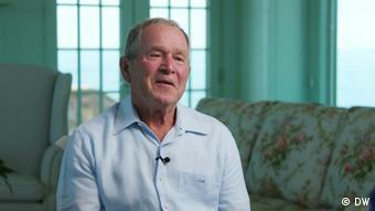 Бывший президент США Джордж Буш в фильме DW