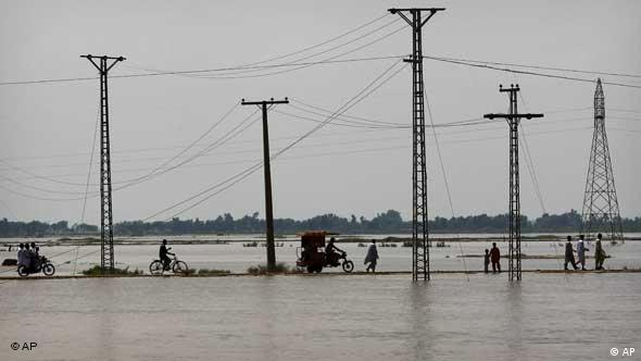 Much of Pakistan still remains under water and rain is predicted