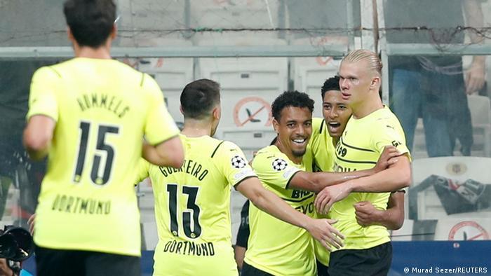 Champions League | Besiktas Istanbul vs. Borussia Dortmund | 2. TOR Dortmund Haaland