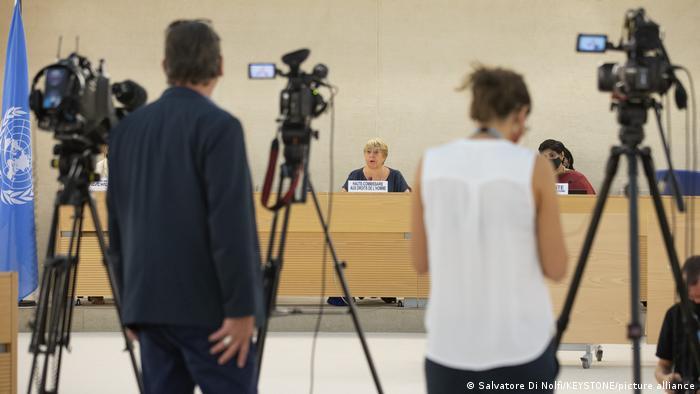 Schweiz Genf | Michelle Bachelet, Hohe Kommissarin für Menschenrechte der Vereinten Nationen