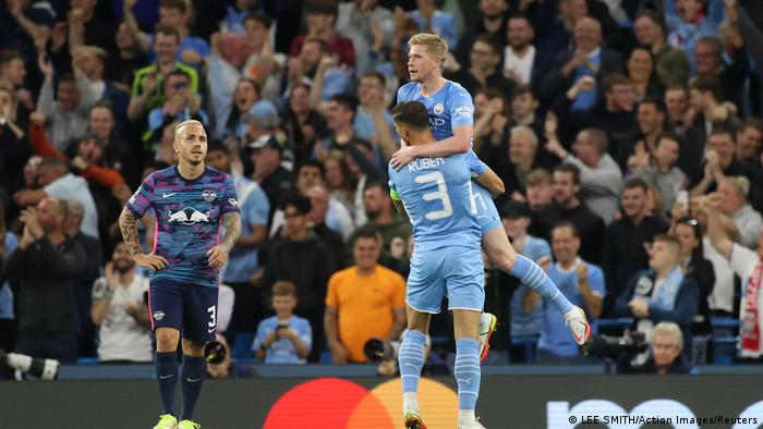 Champions League | Manchester City v RB Leipzig Jubel Eigentor