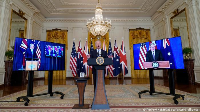 USA I Washington I Präsident Joe Biden