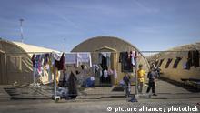 Ca. 8000 afghanische Fluechtlinge leben in Zelten auf dem amerikanischen Militaerstuetzpunkt Ramstein. 08.09.2021