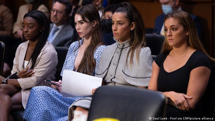 USA Washington |Sport, TurnerInnen | Anhörung sexueller Missbrauch