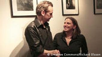 Anna Troberg and Julian Assange