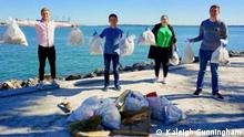 Florida Clean-Up Photographer/source: Kaleigh Cunningham When was the photo taken: December 2020 Where was the photo taken: Miami, FL Caption: ACC activists gathered to clean up South Florida beaches. Thema Konservative Klimaktivisten in den USA