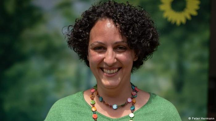 المرشحة للبوندستاغ عن الخضر ياسمين عطية