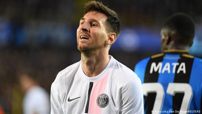 UEFA Champions League | Club Brügge - Paris St. Germain | Lionel Messi