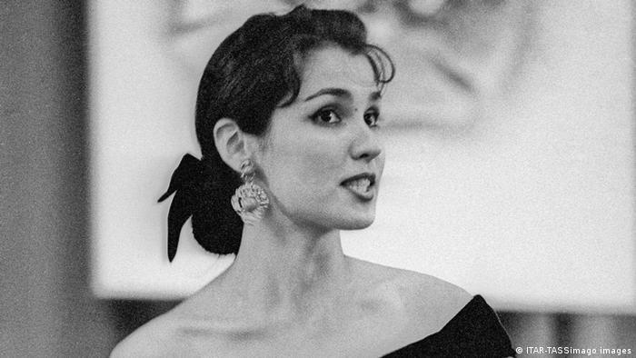 Анна Нетребко в Санкт-Петербурге, 1993 год