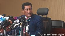 Dina Mufti-Spokesperson of the Foreign Affairs of Ethiopia Addis Abeba, Ethiopia, 16.09.2021**** Author- Solomon Muchie (DW Amharic Correspondent)