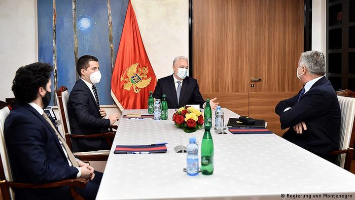 Crnogorski čelnici na jednom ranijem sastanku