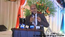 Dr. Girma Ababi, Chairperson of the Ministry of Health's Science and Technical Advisory Group Wo- Hawassa, Ethiopia Wann- 16.09.2021 Author- Shewangizaw Wegayehu (DW Amharic Correspondent)