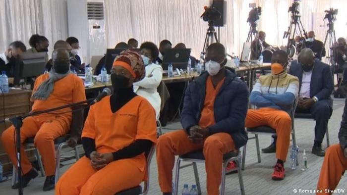 Mosambik   Gerichtsverhandlung in Maputo