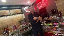 16.09.2021 Bosnien Brane Perkić, der ein Boutique Metzegerei auf der kroatischen Küste geöffnet hat. Urheber: Privat, Datum: 16.9.2021