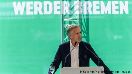 Werder Bremen's chief executive Frank Baumann