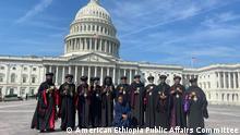 Washington DC, 16.09.2021 ***nur zur abgesprochenen Berichterstattung**** USA l Erzbischöfe der Äthiopisch-Orthodoxen Kirche