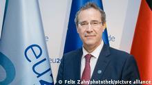 12.06.2020 Miguel Berger, Staatssekretaer des Auswaertigen Amts, aufgenommen waehrend einer Videokonferenz der General- und Staatssekretaere der EU, im Rahmen der EU-Ratspraesidentschaft in Berlin. 12.06.2020.