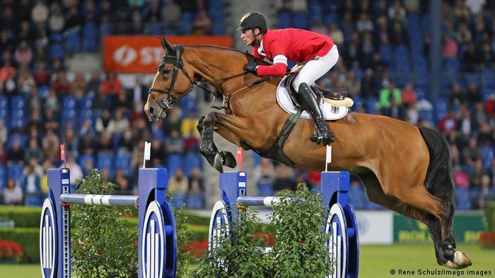 CHIO Aachen 2021 l Daniel Deusser (GER) mit seinem Pferd Killer Queen VDM