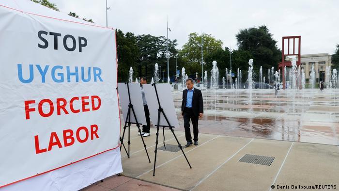 Uyghur Fotoausstellung in Genf