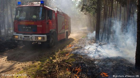 Июльский пожар в Бранденбурге