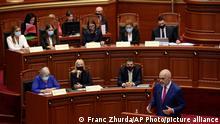 Albanien   Parlament Kabinettswahlen