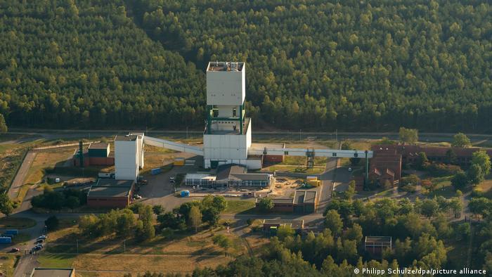 Das Erkundungsbergwerk Gorleben aus der Luft