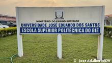 Polytechnische Hochschule Bie, in Angola Copyright: José Adalberto/DW