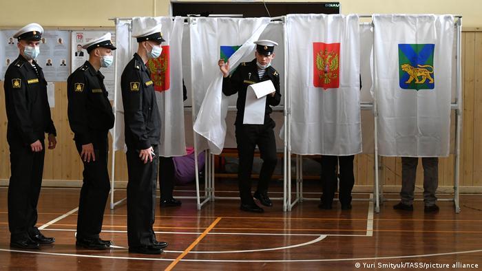 Russland Wladiwostock | Parlamentswahl