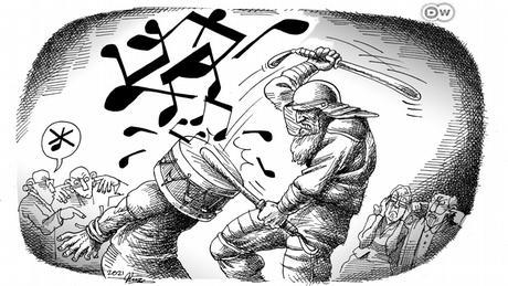 Verhaftung von Tumaj Salehi