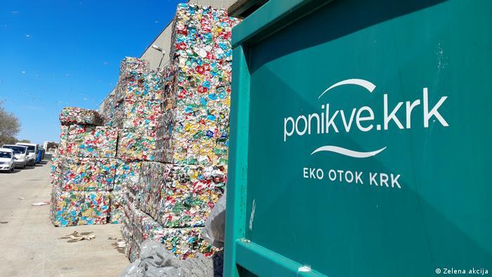 Kroatien Müllentsorgung auf der Insel Krk