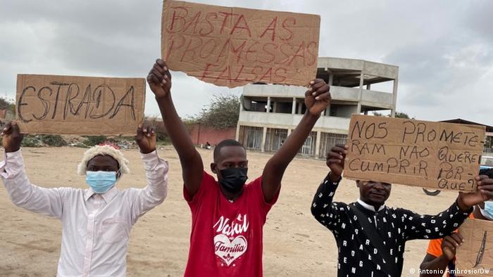 Angola Bengo Provinz | Protest für bessere Lebensbedingungen